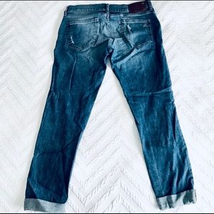 DL1961 Jeans - DL1961 Riley Boyfriend Distressed Maternity Jean